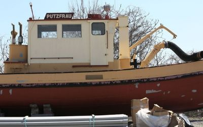 Restoring The Putzfrau: The boat that cleaned up the Cuyahoga River
